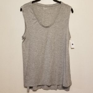 GapBody pure body modal/spandex tank in gray